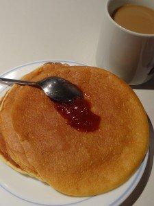 Pancakes légers pour un ptit dej' sans complexe ! dans Recettes lights DSC01478-225x300